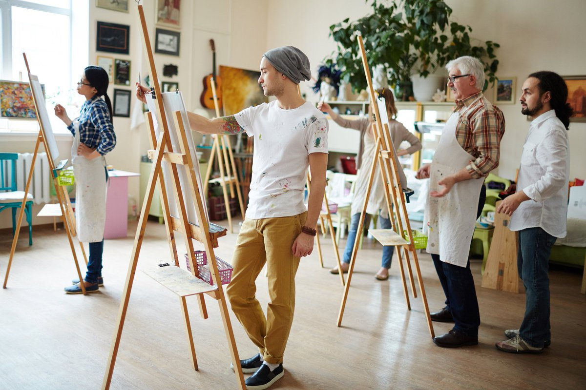 atelier de peinture ludique